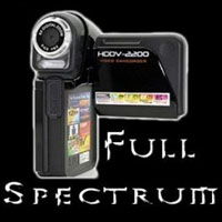 Full Spectrum Standard Video Camera Conversion