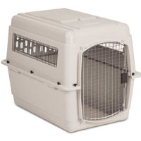 Durable Front Load Bleached Linen Kennel in Four Sizes