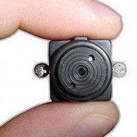 High Quality Wireless COLOR Spy Cam Nanny Mini Micro Camera - Complete System