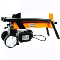 Heavy Duty Electric Hydraulic Log Splitter with Wheels