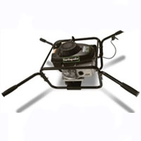 Powerhead Earth Auger with Honda Engine - GCV160 5.5 hp