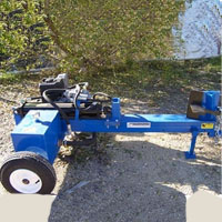 Brand New 25 Ton Horizontal Log Splitter