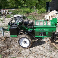 Brand New 30 Ton Horizontal Log Splitter with 23 GPM & 13 HP Honda Engine