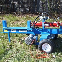 Brand New 16 Ton Electric Log Splitter