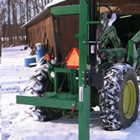20 Ton Horizontal Vertical 3 With PTO Option