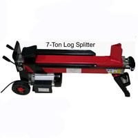 37 ton 9 Hp Log Splitter