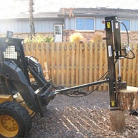 30 Ton Horizontal Vertical Skid Steer Attachment