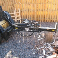20 Ton Horizontal Vertical Skid Steer Attachment