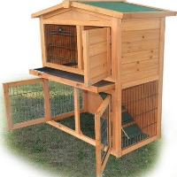 "Brand New 40"" x 22"" x 39"" Chicken Coop Rabbit House"