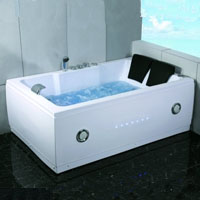 Whisper Brand New Two Person Computerized Whirlpool Jacuzzi Bath Hot Tub Spa w/ Hydro Therapy Jets
