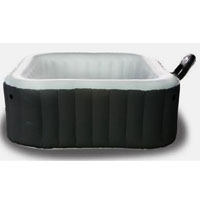 4 Person Alpine Round Shape Bubble Spa Inflatable Hot Tub