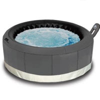 4 Person Castello Round Shape Bubble Spa Inflatable Hot Tub