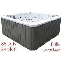 Futura 88 Jet Fully Loaded 8 Person Hot Tub Spa