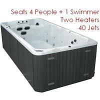 16 Foot Swim Spa
