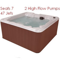 Great Sport 7 person Spa w/ Contoured Seats