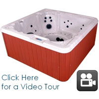 Great Sport 8 Person Spa w/ AM/FM Stereo and IPOD/MP3 ready