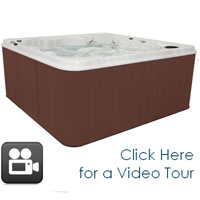 QCA 8 Person Hot Tub Spa with 60 Jets & 2 Pumps