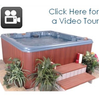 QCA 8 Person Hot Tub Spa with 70 Jets & 2 Pumps