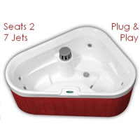 LG 2 Person Corner Spa