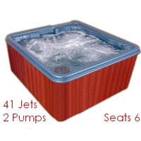 'Luxor' 6 Person Hot Tub Spa