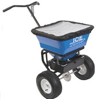 High Quality Walk Behind Salt Spreader
