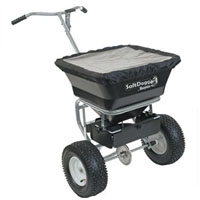 High Quality 100 Lb. Capacity Salt Dogg Walk Behind Spreader