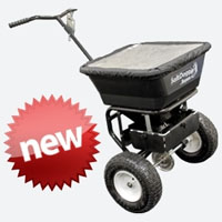 High Quality Walk Behind Salt Spreader With 100 Lb. Load Capacity