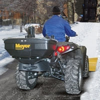 High Quality Meyer Products ATV Spreader — 125-Lb. Capacity