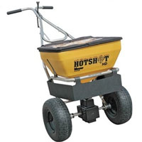 High Quality 70 Lb. Capacity Meyer Hot Shot Professional Walk Behind Spreader