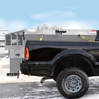 High Quality Stainless Steel Meyer V Box Insert Spreader with 2 Cubic Yard Capacity