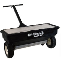 Salt Dogg Walk-Behind Drop Spreader — 200-Lb. Capacity