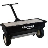 Salt Dogg Walk-Behind Drop Spreader — 200-Lb. Capacity