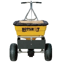 Meyer Hot Shot Professional Walk Behind Spreader - 100lb. Capacity, 1.8 Cu. Ft. Hopper