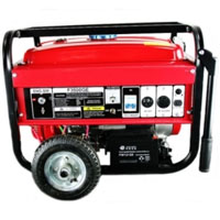 3500W 6.5HP Gasoline Gas Generator with Electric battery Start and Wheels