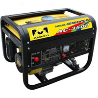 High Quality 3600 Watt Recoil Start Gasoline Generator