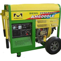 High Quality 6500 Watt Remote Control & Electric Start Diesel Generator