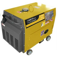 High Quality 4500 Watt Electric Start Diesel Engine Generator