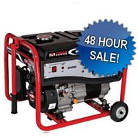 High Quality 4500 Watt Amico Gas Generator