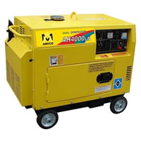High Quality 4500 Watt Electric Start Diesel Generator