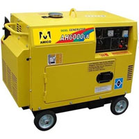 High Quality 6500 Watt Electric Start Diesel Generator