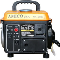 High Quality 1000 Watt Pull Start Gasoline Generator