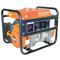 High Quality Powerland Portable 1500 W Gas electric Generator