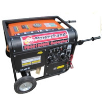 10000 Watt Powerland Tri Fuel Generator W / Electric Start