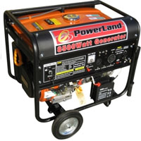 8500 Watt Powerland Portable Gas Electric Start Generator