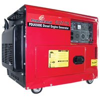 High Quality 6500 Watt Powerland Diesel Generator