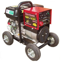 High Quality Combination 100 AMP Welder & Gas Generator