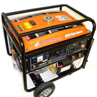 High Quality Combination 210 Amp Welder & 4000 Watt Generator