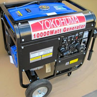 High Quality YOKOHUMA 10000W Portable Gas Generator