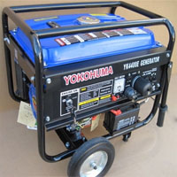 High Quality Portable Gas Generator 4400 W