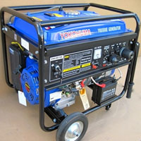 High Quality 6500W Portable Gas Generator Electric Start